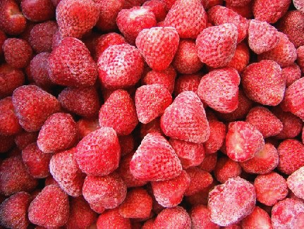 Wholesale IQF Organic Strawberries Distributor #1 Finest Quality