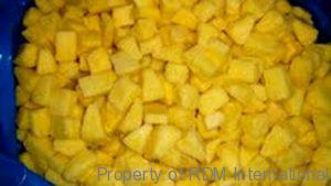 bulk wholesale organic iqf pineapple distributor