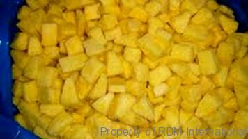 Organic Frozen IQF Pineapple Distributors