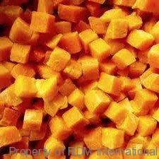 Bulk Conventional & Organic IQF Pumpkin
