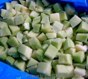 Frozen Cantaloupe - Organic IQF Melon